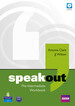 Speakout Pre-Intermediate, Workbook (zeszyt ćwiczeń) without Answer Key plus Audio CD